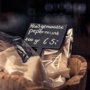 huisgemaakte pepermunt