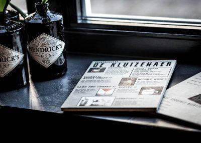 menukaart cocktails hendricks gin